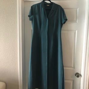 Tommy Bahama silk  maxi dress
